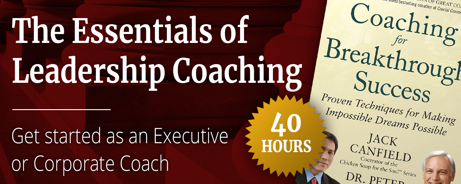 Essentials of Leadership Coaching